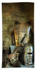 Knight - A Warriors Tribute  Bath Towel