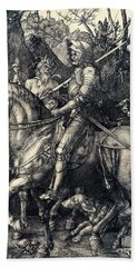 Knight Death And The Devil Bath Towel