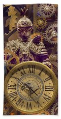 Knight Time - Chuck Staley Bath Towel by Chuck Staley
