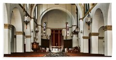 Knowles Memorial Chapel Rollins College 2 By Diana Sainz Bath Towel