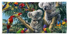 Koala Outback Bath Towel