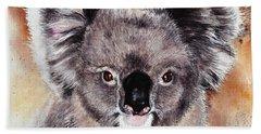 Koala  Hand Towel by Sandra Phryce-Jones