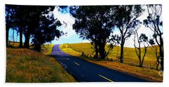 Kohala Mountain Road  Big Island Hawaii  Bath Towel