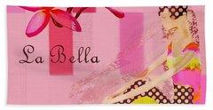 La Bella  - Pink - 055152176-02 Hand Towel