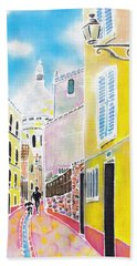 La Butte Montmartre Bath Towel