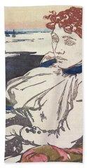 La Convalescante Mademoiselle Lepere Bath Towel