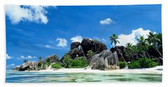 La Digue Seychelles Bath Towel