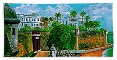 La Fortaleza San Juan Puerto Rico Hand Towel