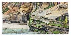 La Jolla Cliffs Hand Towel