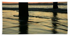 Bath Towel featuring the photograph La Jolla Shores Sunset by John F Tsumas
