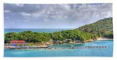Labadee Hand Towel by Shelley Neff