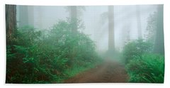 Lady Bird Johnson Grove, California Bath Towel