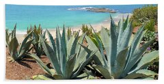 Laguna Coast With Cactus Hand Towel