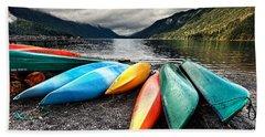 Lake Crescent Kayaks Hand Towel
