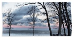 Lake Erie Sunrise Hand Towel