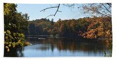 Lake In The Catskills Hand Towel