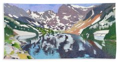 Lake Isabelle Colorado Hand Towel