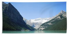 Lake Louise Alberta Canada Bath Towel