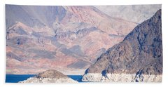 Hand Towel featuring the photograph Lake Mead National Recreation Area by John Schneider