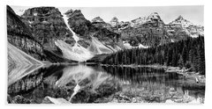 Lake Moraine Reflection Bath Towel