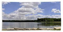 Hand Towel featuring the photograph Lake Of Dreams by Verana Stark
