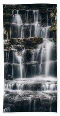 Lake Park Waterfall 2 Hand Towel