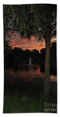 Lake Play Florida Bath Towel