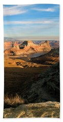 Lake Powell From Alstrum Pt 02 Bath Towel by Jeff Brunton