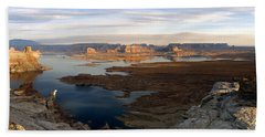 Lake Powell From Alstrum Pt Pan 2 Bath Towel by Jeff Brunton