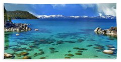 Lake Tahoe Cove Bath Towel by Dominic Piperata