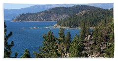 Lake Tahoe Nevada Bath Towel