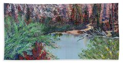 Lake Tranquility Bath Towel by Alys Caviness-Gober