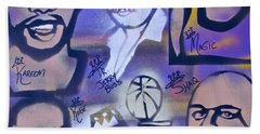 Lakers Love Jerry Buss 2 Hand Towel