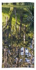 Bath Towel featuring the photograph Lakeshore Reflections by Kate Brown