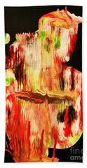 Lakota Sioux Warrior Bath Towel by Roberto Prusso