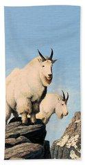 Lamoille Goats Bath Towel