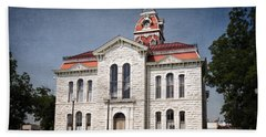 Lampasas County Courthouse Hand Towel
