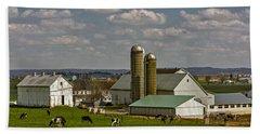 Lancaster Pennsylvania Farms Hand Towel