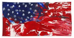 Land Of Liberty Bath Towel