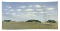 Landscape From Lejre Hand Towel