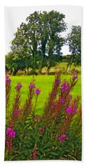 Lanna Fireweeds County Clare Ireland Hand Towel