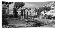 Largo Di Torre - Roma Bath Towel by Dany Lison