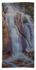Las Brisas Falls Huatuco Mexico Bath Towel