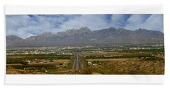 Las Cruces New Mexico Panorama Bath Towel