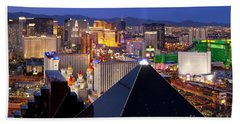Las Vegas Skyline Bath Towel