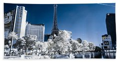 Las Vegas Strip In Infrared 2 Hand Towel