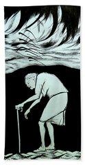 Last Journey Bath Towel by Anna  Duyunova