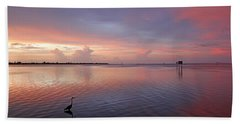 Last Light Bath Towel by HH Photography of Florida