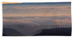 Last Light Over Mt. Adams Bath Towel