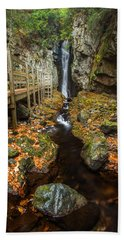 Late Autumn At The Fall Of Song Hand Towel